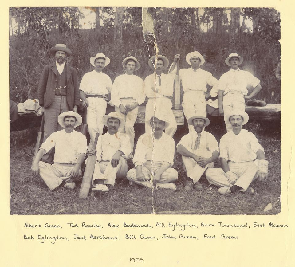 Central Cricket team - 1903