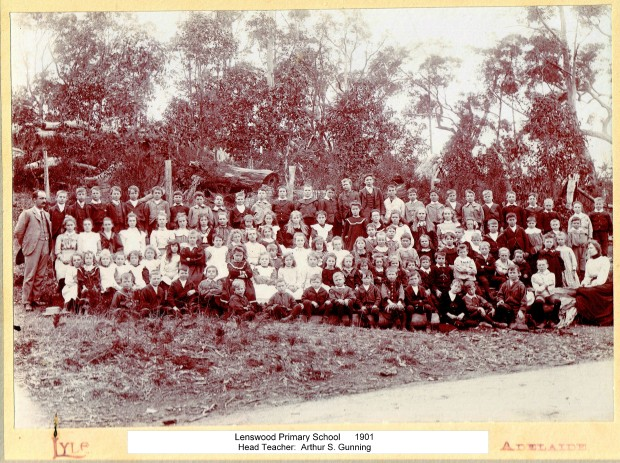 Forest School (now Lenswood Primary School) 1901