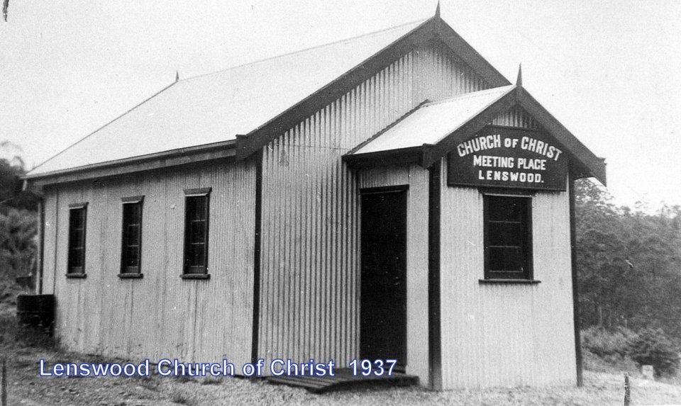Church of Christ, Lenswood.