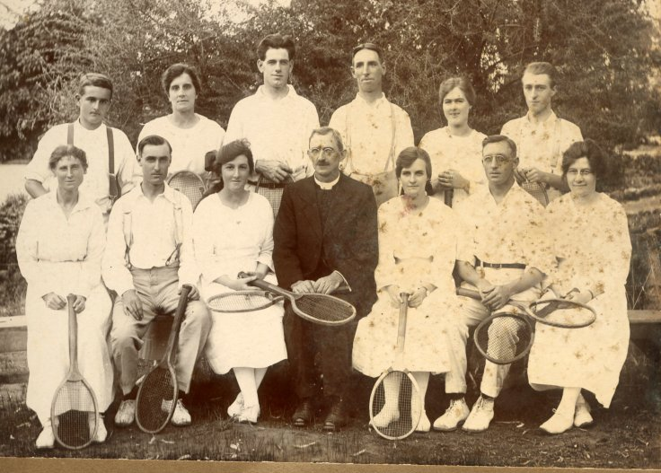 Tennis Club Myrtle and Blanche Vickers