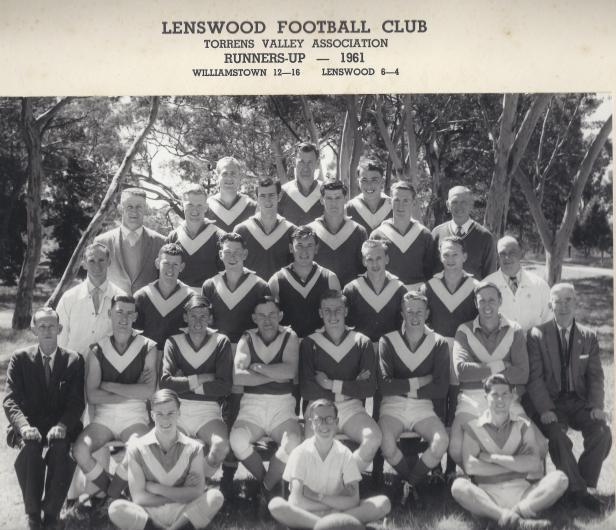 Lenswood Football Club 1961 A grade