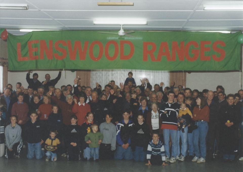 Lenswood Ranges Football Club - 1978 Grand Final reunion