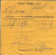 Mason's shop, Forest Range
