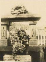 World War I memorial, Forest Range & Lenswood community